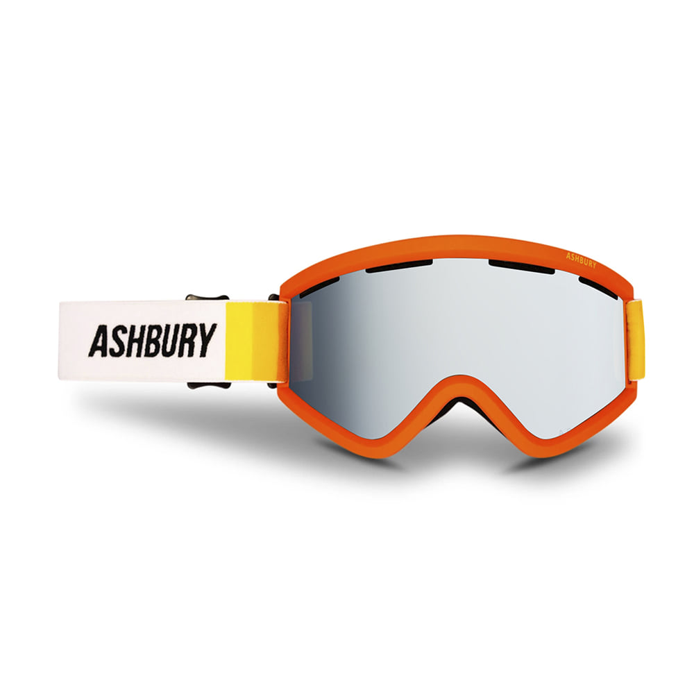 ASHBURY [CLASSIC] BLACKBIRD SUNRISE: Silver mirror lens + Clear lens